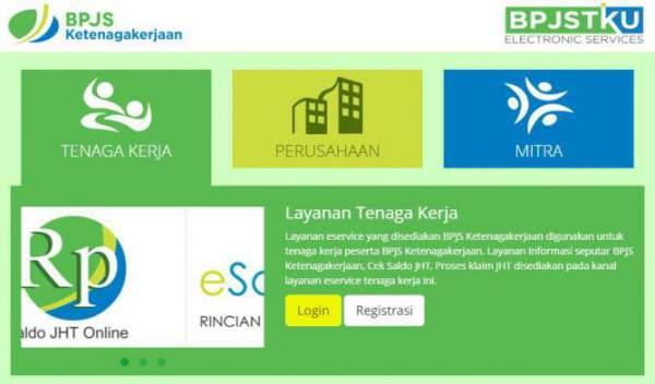 Login BPJS Ketenagakerjaan, eklaim BPJS Ketenagakerjaan