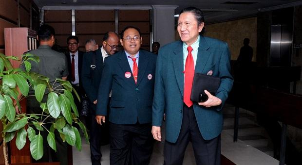 Ketua Umum IDI Sambangi Mabes TNI