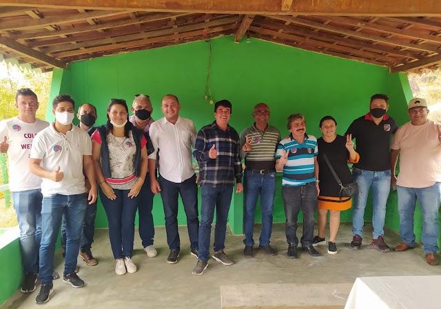 Vice-prefeito Dr. Maneco participa do primeiro CRAS volante ao lado de vereadores em Xucuru zona rural de Belo Jardim, PE