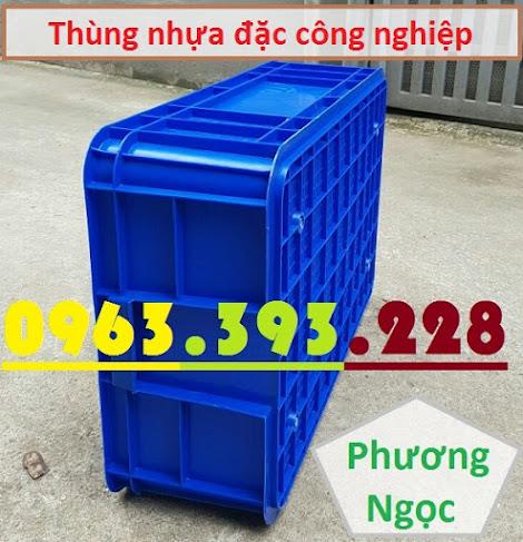 Thùng nhựa đặc HS003, sóng nhựa bít HS003, khay nhựa công nghiệp, T%25C4%2590193