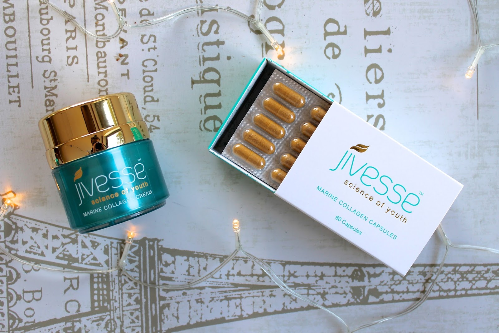 jivesse marine collagen skincare review