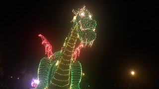 Pete's Dragon Main Street Electrical Parade Float