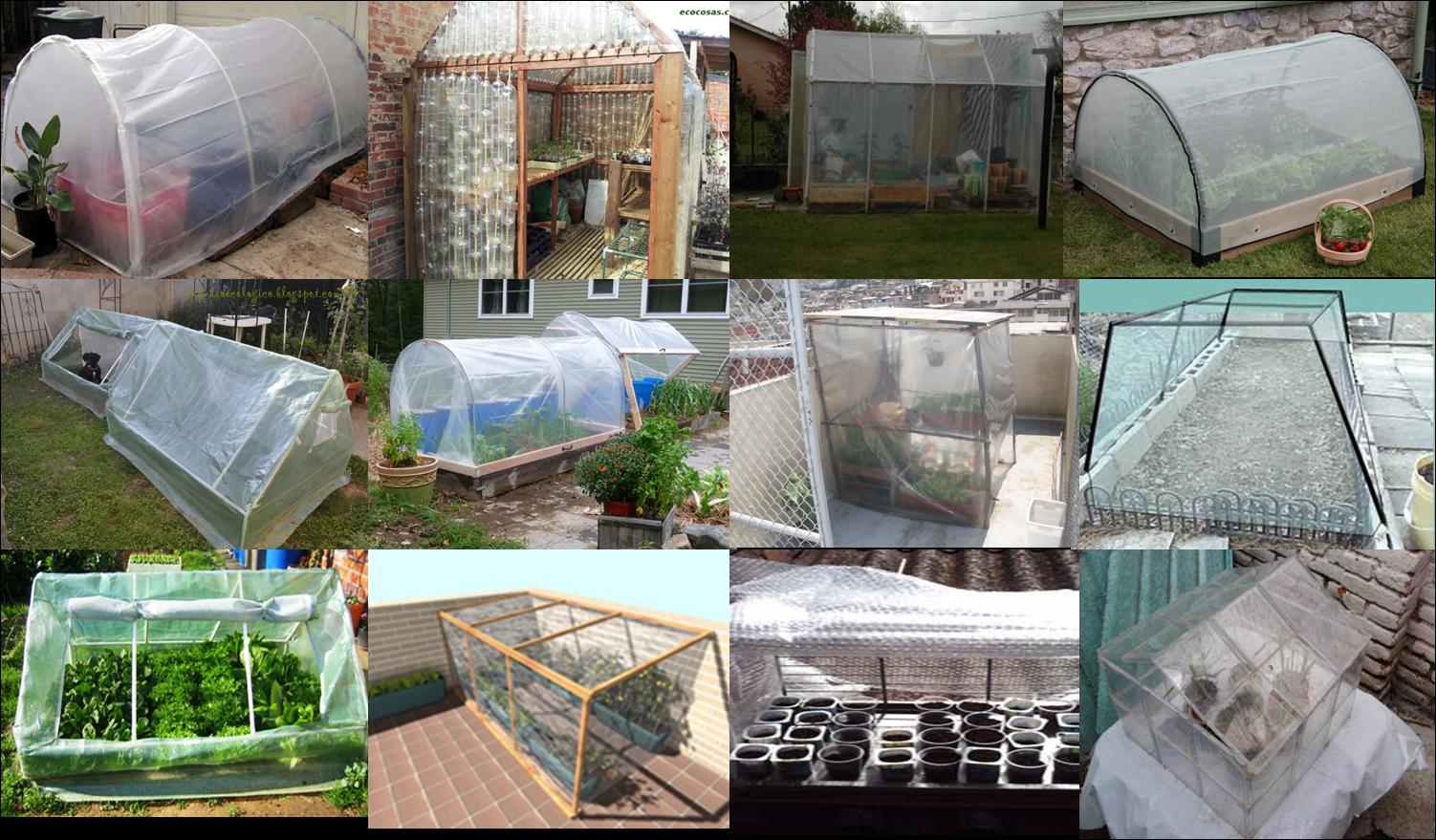 Huerto y maceto huerto ecol gico guia y planificaci n de for Construccion de viveros e invernaderos