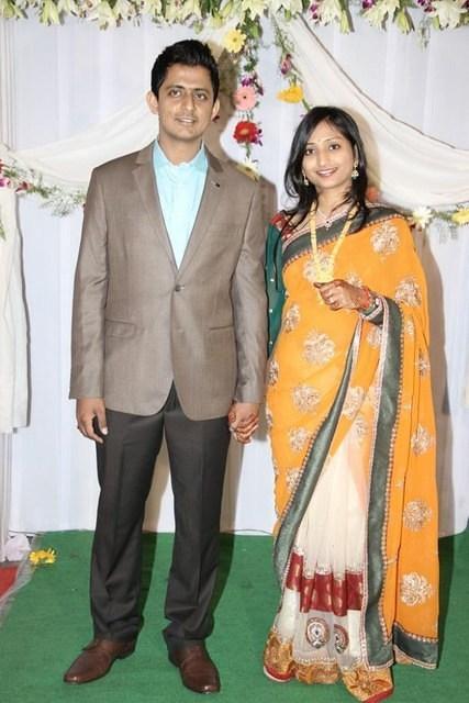 A Musical Wedding Reception Of Singer Dinakar Indian Celebrity Events