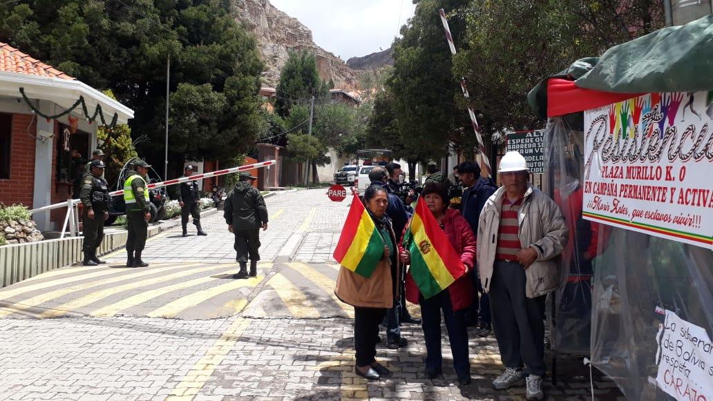 Vigila de La Resistencia Kilómetro Cero en la zona La Rinconada / RADIO LÍDER FM