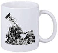 Disc Golf Tasse Iwo Jima