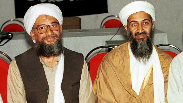 al-Qaeda leader Ayman Zawahiri Said and Osama Bin Laden