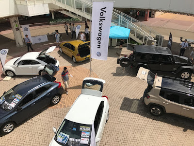 Volkswagen・Jeep・VOLVO 3社合同展示会