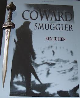 Portada del libro The Coward Smuggler, de Ben Julien