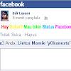 Cara Menciptakan Status Facebook Warna- Warni Atau Pelangi 2018-2019