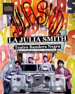 La Julia Smith celebra 10 años de su álbum debut con edición en físico y show en vivo musica chilena música chilena