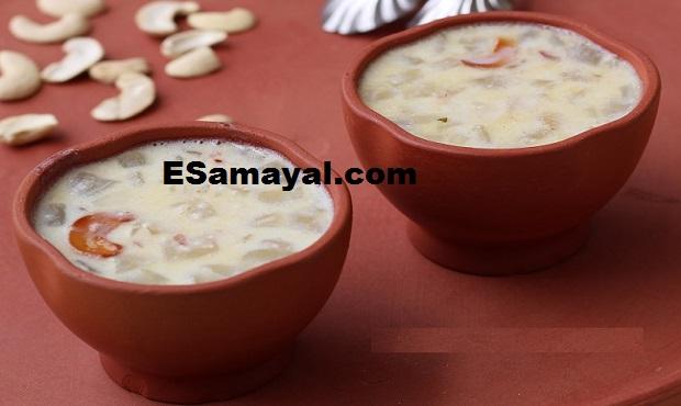 நுங்கு பாயாசம் செய்வது   Palmyra Fruit Payasam Recipe !