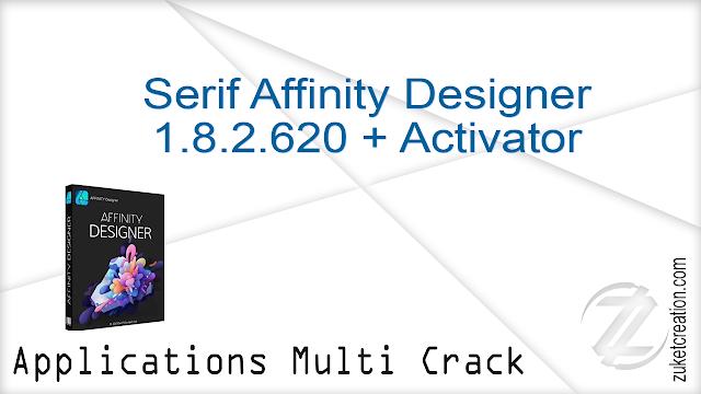 Serif Affinity Designer 1.8.2.620 + Activator