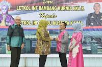 Bupati dan Walikota Bima Terkesan dengan Pengabdian Letkol (Inf) Bambang Kurnia Eka Putra