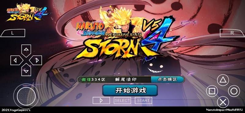 Naruto Ultimate Ninja Storm 4 PPSSPP ISO Download