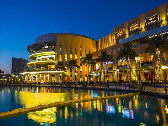 Dubai Mall - Paket Tour 6D3N Dubai Romance 26 Jul 2018