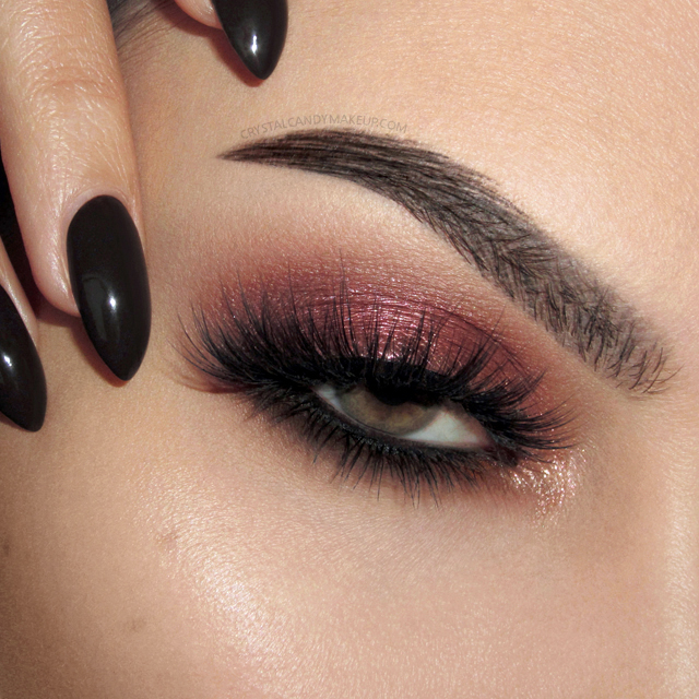 Makeup Look NARS Wanted Red Eyeshadow Valentine Day EOTD