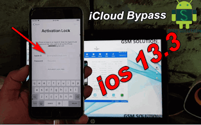 Bypass iCloud ios13.3iCloud Activation Lock Bypass iso 13.3