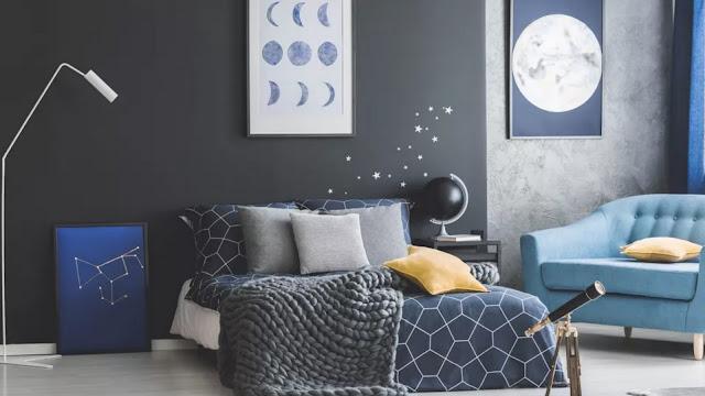 bedroom wall paint design ideas