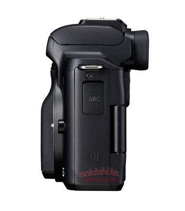 Canon EOS M50, вид слева