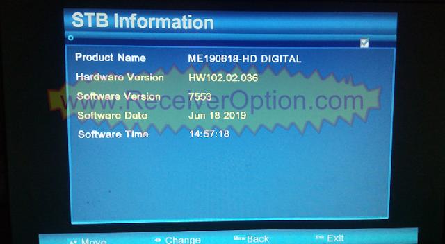 ALI3510C HW102.02.036 HD RECEIVER TEN SPORTS OK NEW SOFTWARE