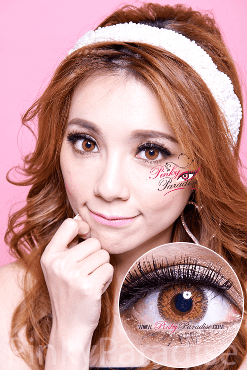 G&G DB31 Brown Circle Lenses (Colored Contacts)