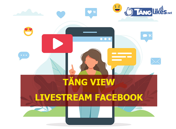 dich vu tang view livestream facebook
