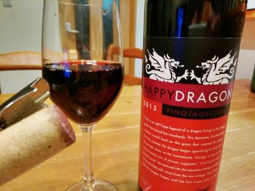 Cloof Happy Dragon Pinotage Shiraz クルーフ ハッピー・ドラゴン ピノタージュ シラーズ