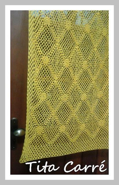 Cortina para Porta em Crochet