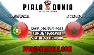 Prediksi Bola Portugal vs Maroko 20 Juni 2018