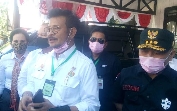 Menteri Pertanian RI Sebut Kapuas Berpotensi Jadi Lumbung Ketahanan Pangan