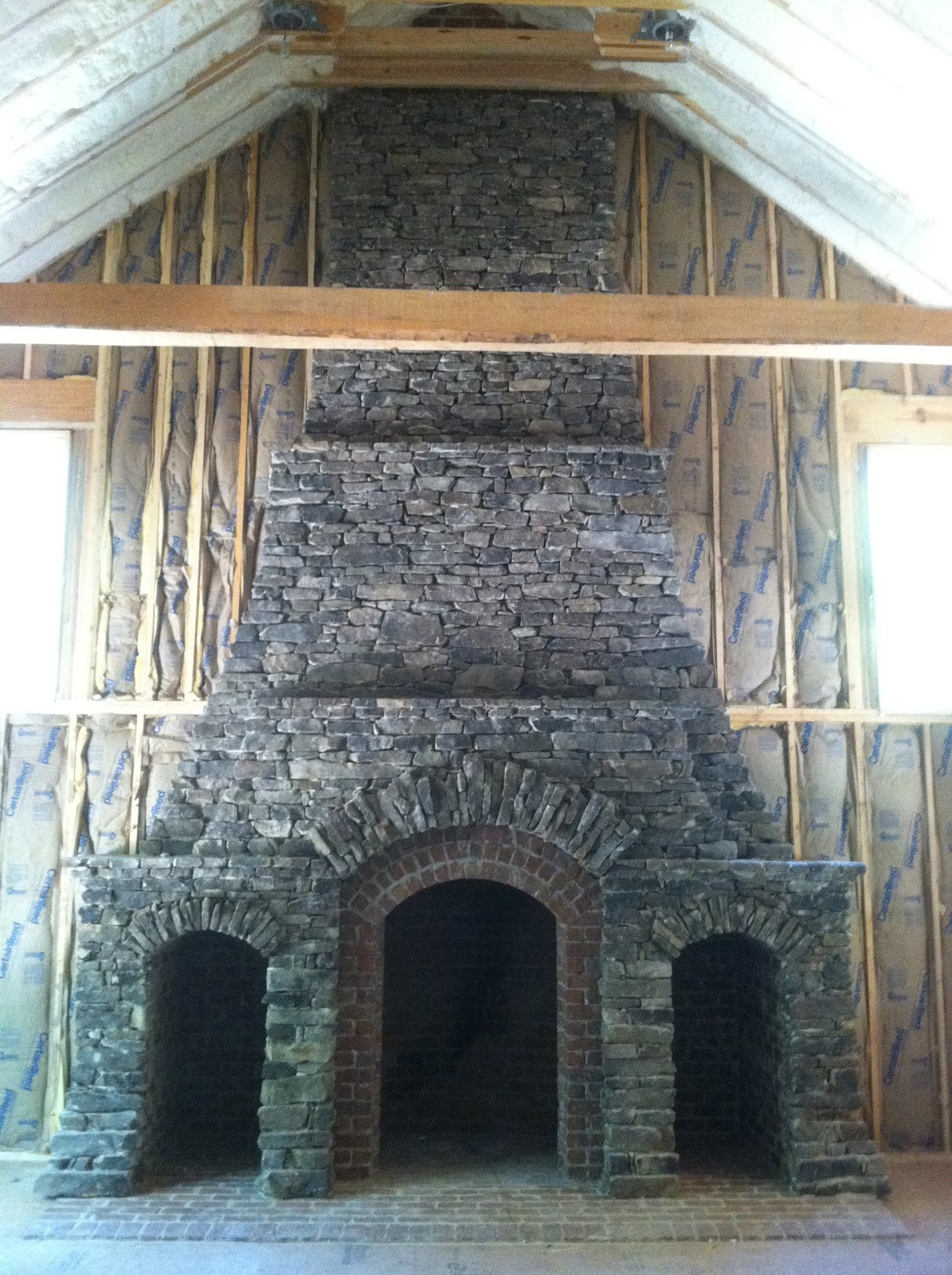 Completion Of The Ey Betts Fireplace And Chimney Project