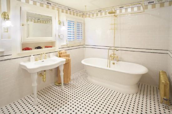 Ý tưởng Thiết kế phòng tắm sang trong, đẳng cấp