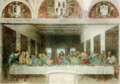Perjamuan Terahir Yesus dan 12 muridNya , Foto Wikipedia Commons