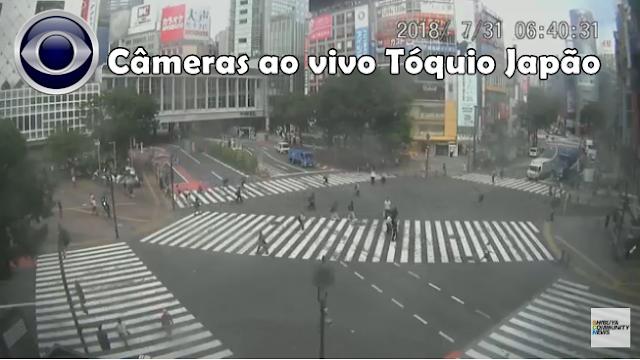 Câmeras ao vivo do Japão