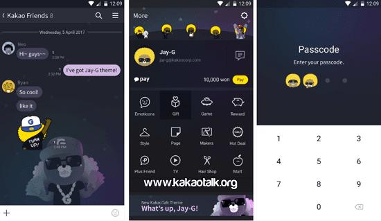 Jay G KakaoTalk Theme para Android