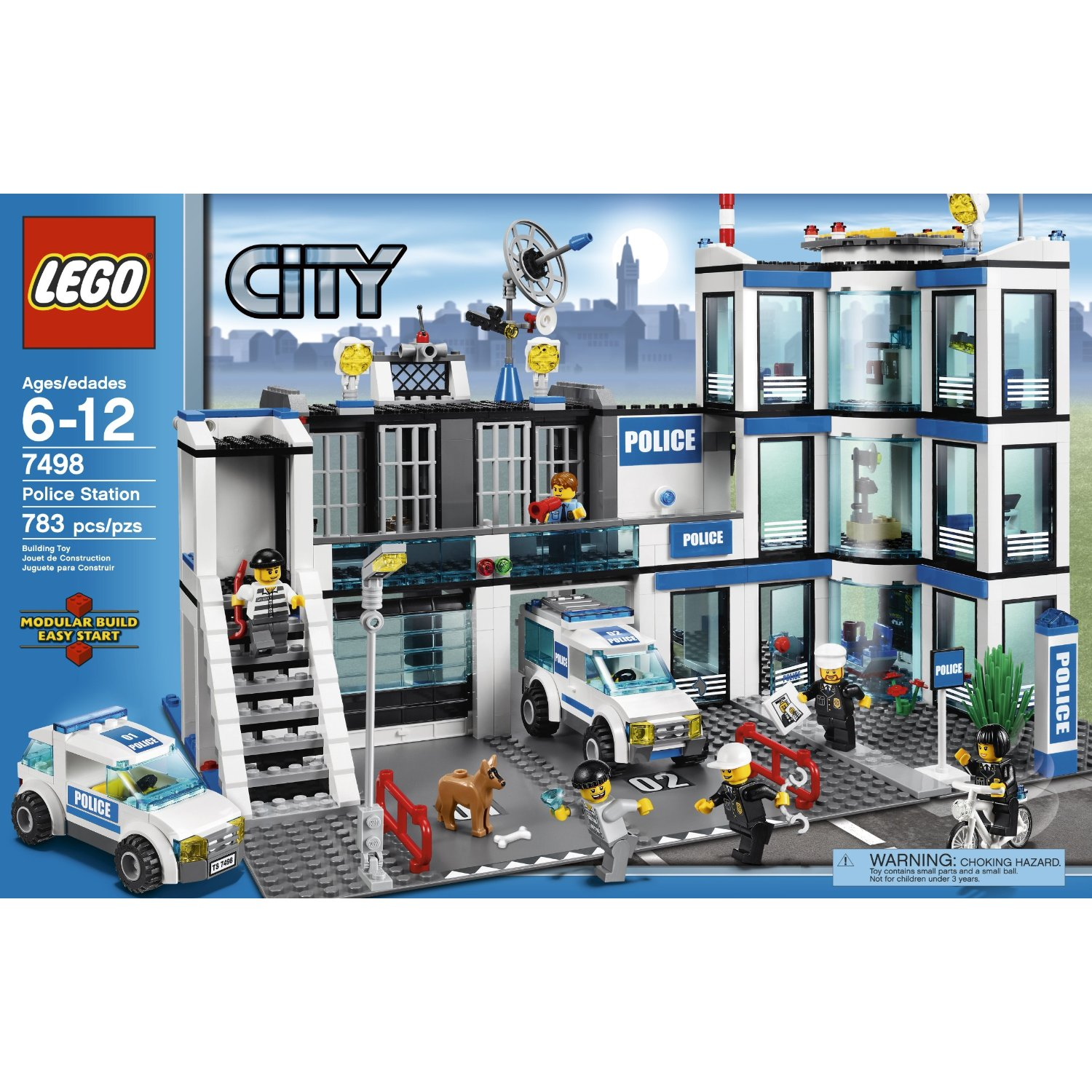 LEGO CITY GAMES & TOYS: LEGO Police Station 7498