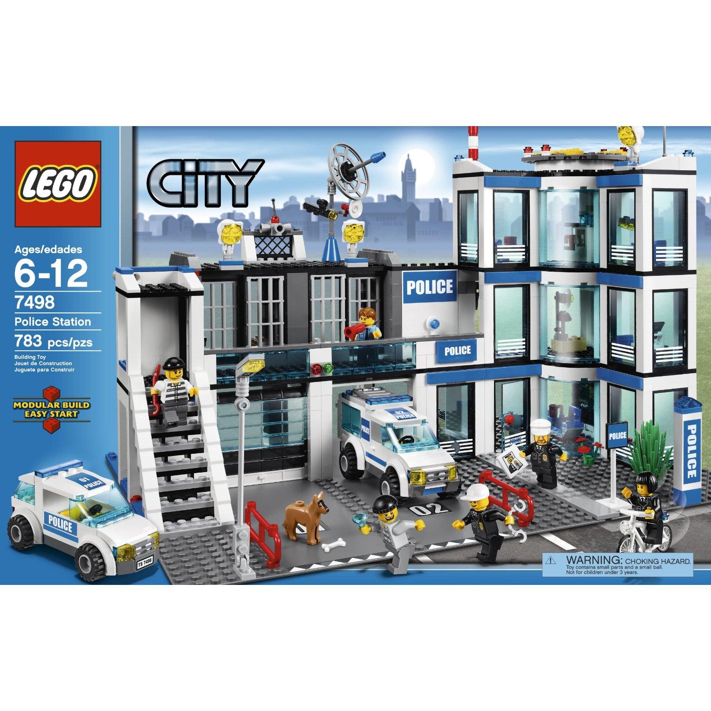 LEGO CITY GAMES & TOYS: LEGO Police Station 7498