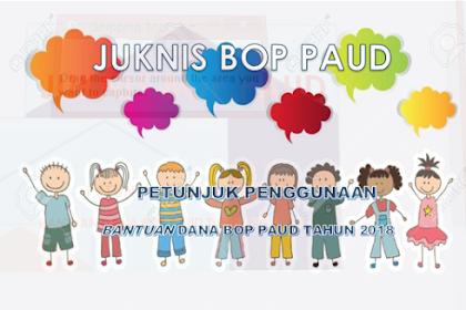 Download Juknis Bop Paud 2018