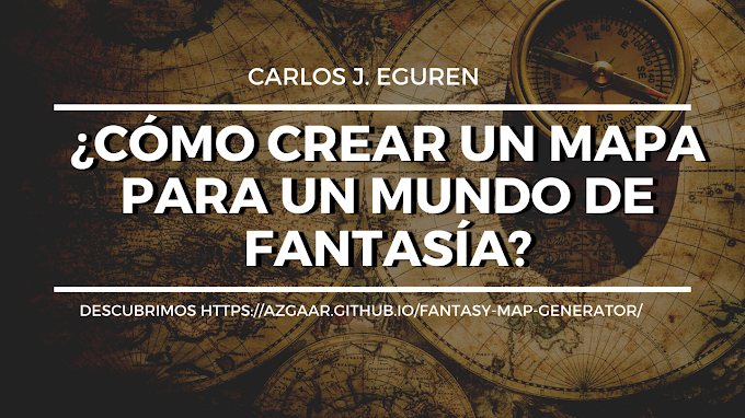 ¿Cómo crear un mapa para un mundo de fantasía?
