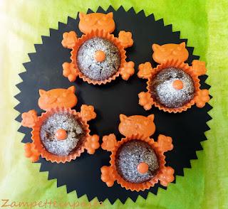 Muffin con farina di grano saraceno e marmellata
