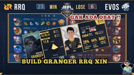Build Granger RRQ Xin Tersakit