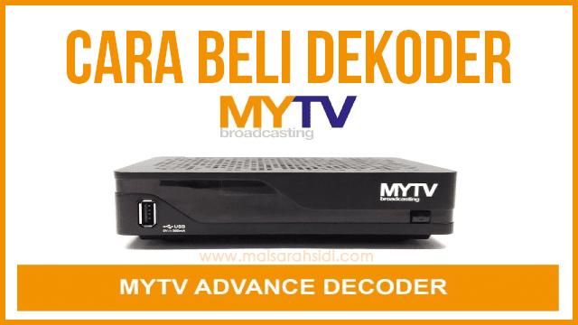 Cara Beli Dekoder MYTV