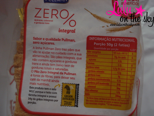 Saiba tudo sobre a Linha Zero% Pullman: Pullman Zero% Integral e Pullman Zero% 12 Grãos - blog luluonthesky