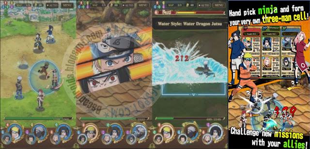Naruto Shippuden Ultimate Ninja Blazing Mod v1.1.2 Apk Terbaru For Android