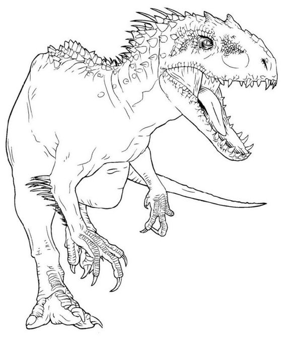 Dinosaurs coloring pages 18