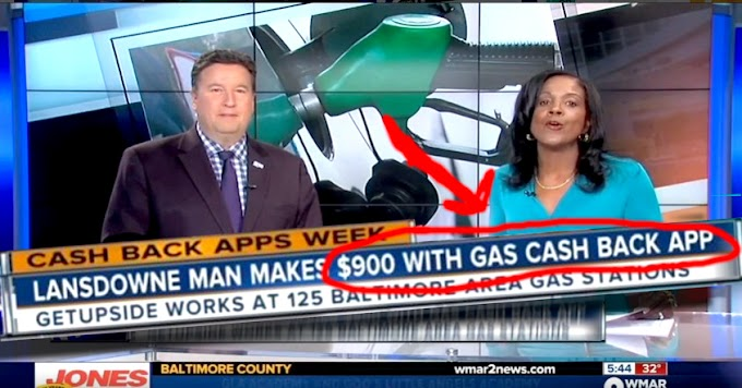 40c Per Gallon Cash Back, At Hundreds Of Gas Stations - GetUpside Is The New App That Does It...