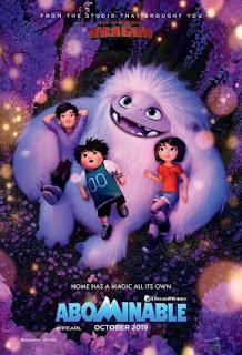 Sinopsis Film Abominable (2019)