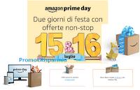 Logo Amazon Prime Day : due soli giorni di offerte non stop e sorprese! Scopri l'anticipazione