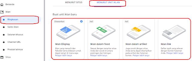 Cara Memasang Iklan Google Adsense Terbaru Dengan Auto Ads